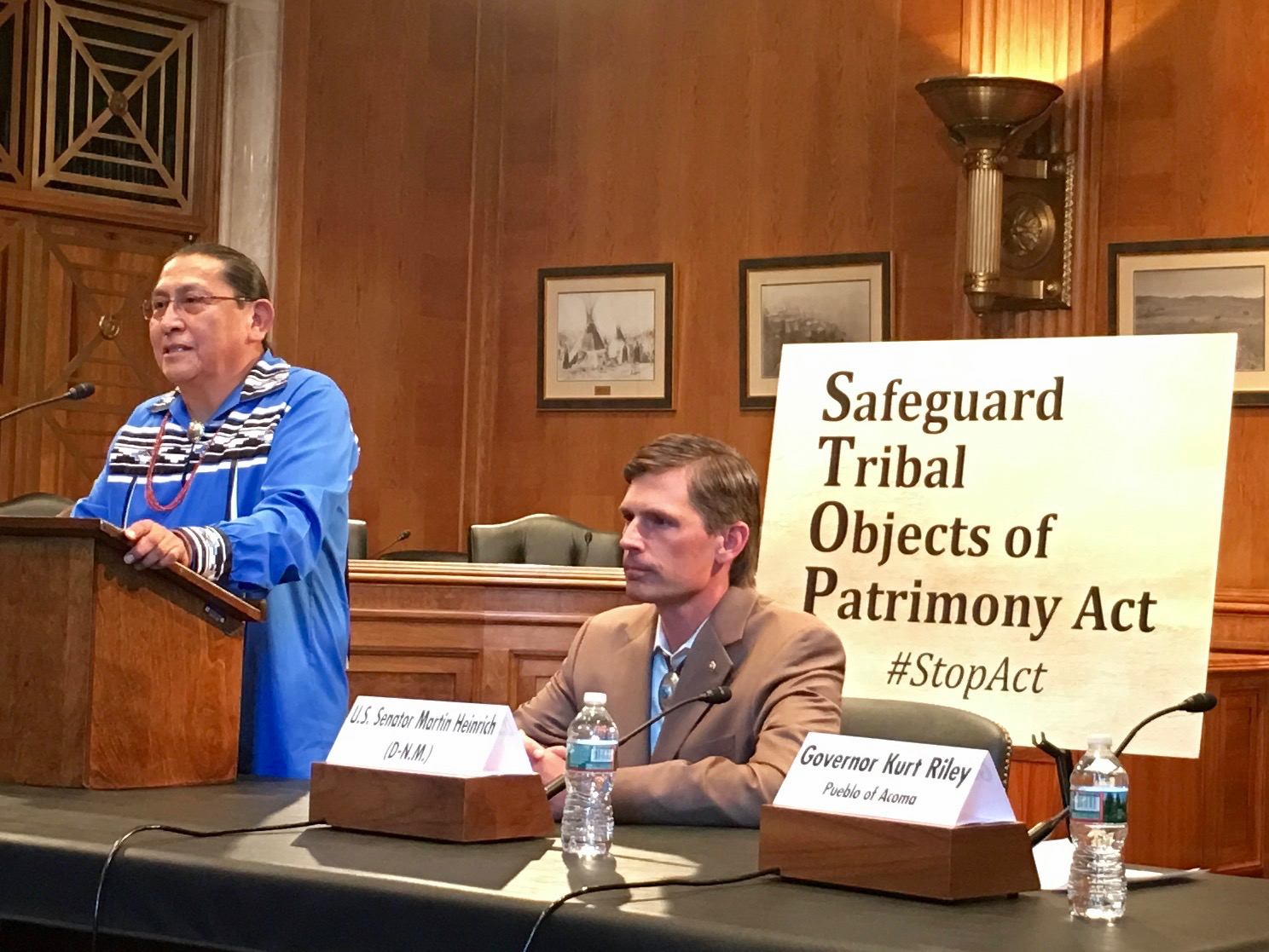 Tribes support bill in Senate to stop the export of cultural property