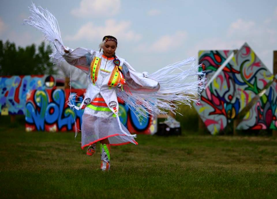 Lakota Country Times: Native youth come together for graffiti jam