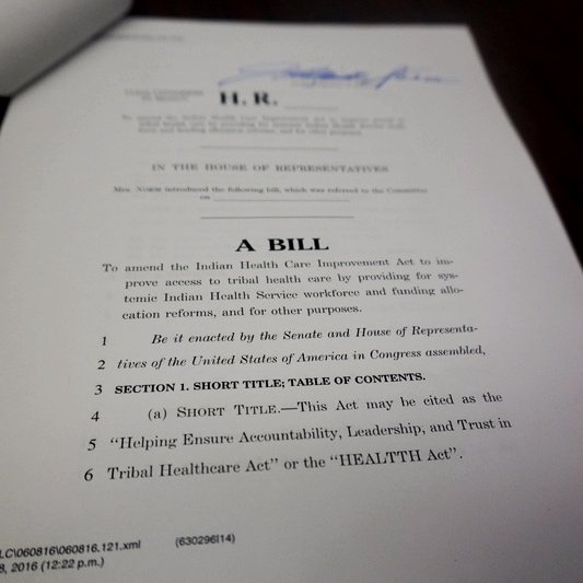 House subcommittee sets hearing on Indian Health Service bill