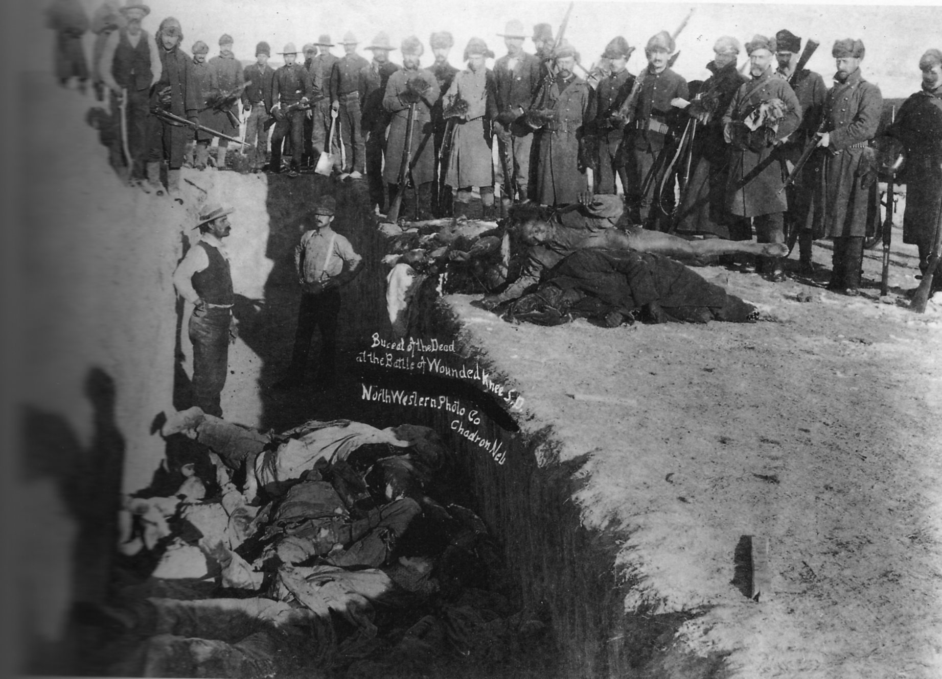 Mark Charles: United States continues to honor war crimes at Wounded Knee