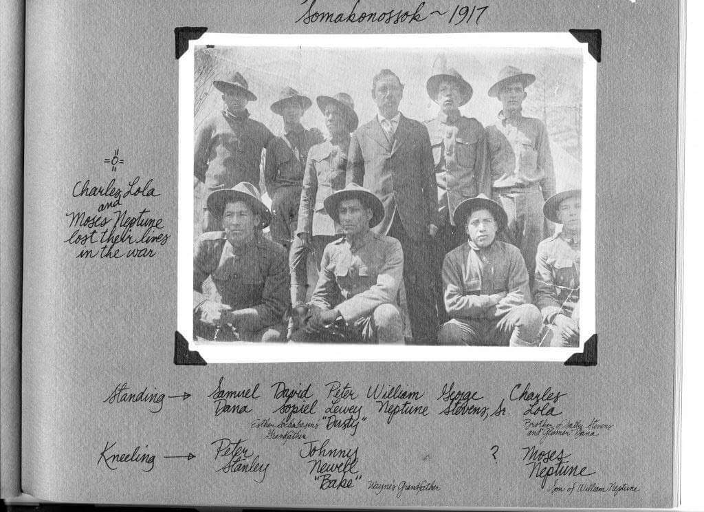 Soldiers from Passamaquoddy Tribe finally recognized for service in World War I