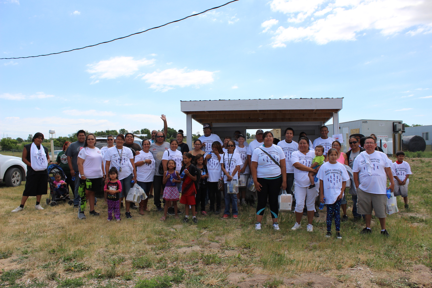 Lakota Country Times: Oglala Sioux Tribe hosts walk for cancer