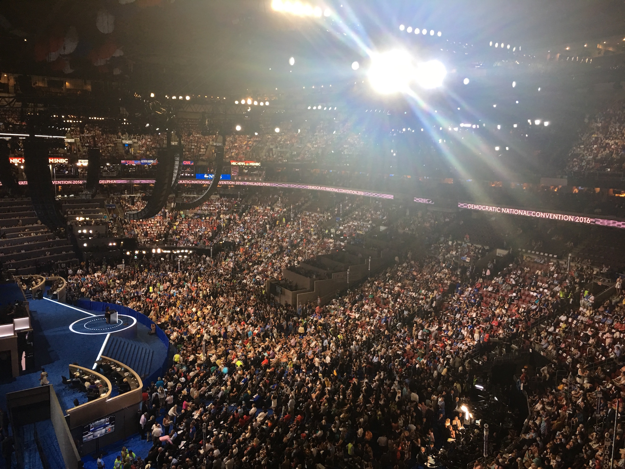 Indian Country makes presence known at Democratic convention