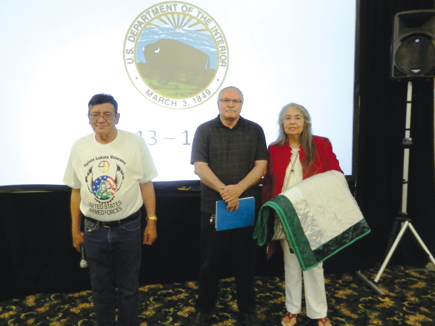 Native Sun News: Tribes honor author of Indian Child Welfare Act