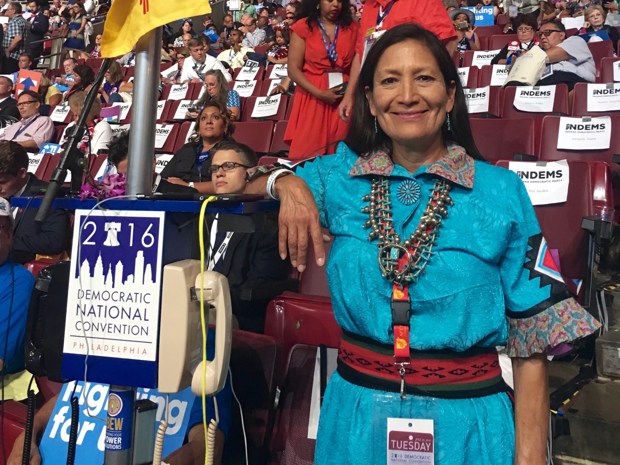 Harlan McKosato: Interview with Hillary Clinton supporter Deb Haaland