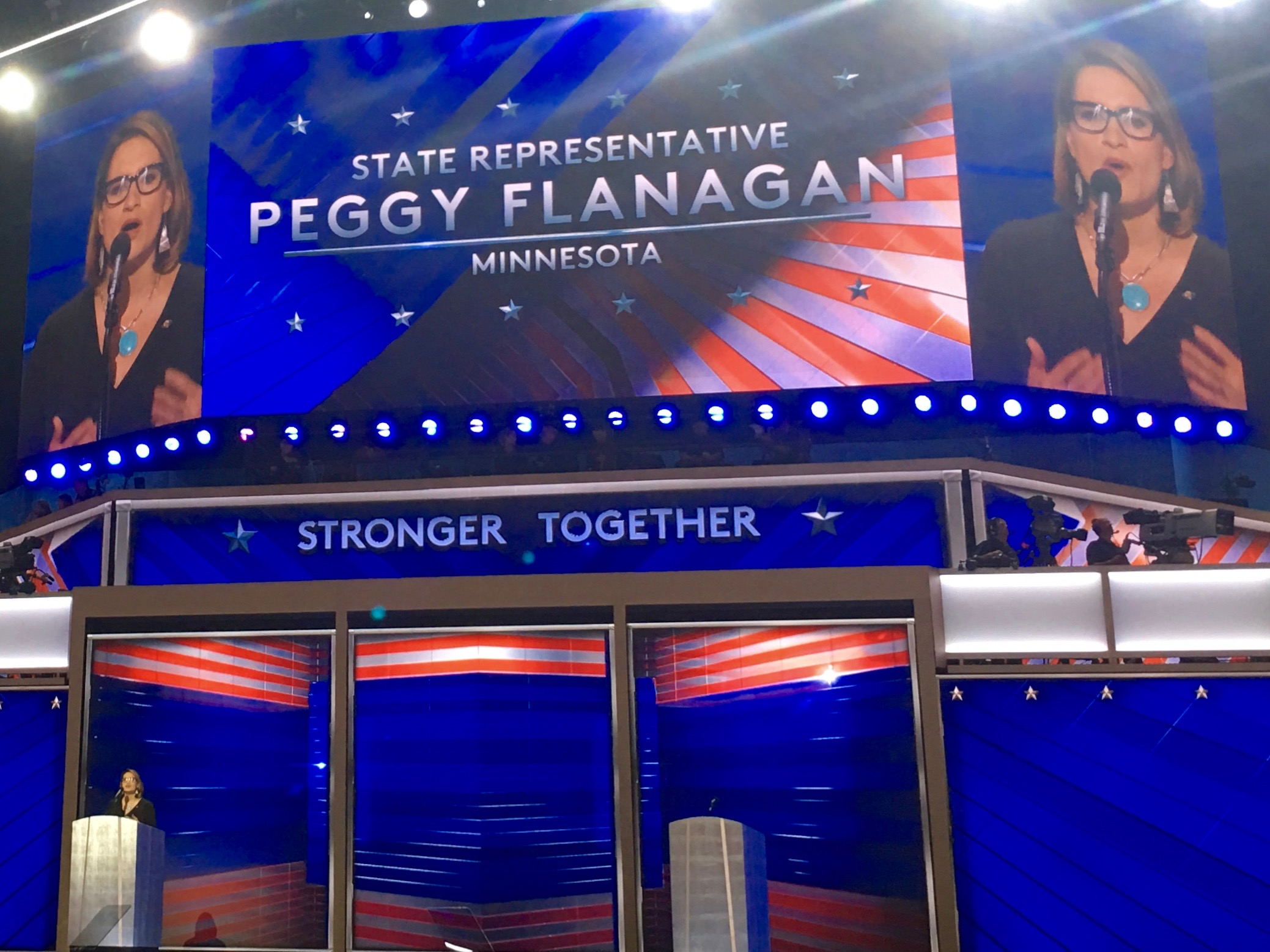 Indian Country again shares stage on final night of Democratic National Convention