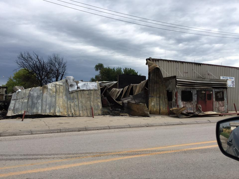 Lakota Country Times: Blaze destroys Native-owned grocery store