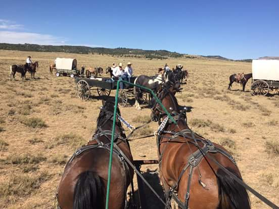 Crow Tribe blamed for 'hostage situation' involving wagon train