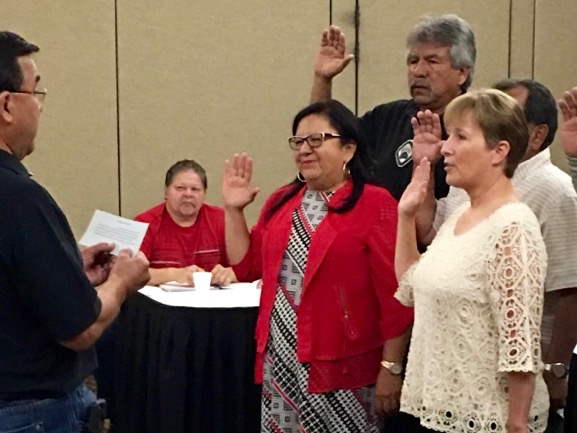 Minnesota Chippewa Tribe swears in executive committee members