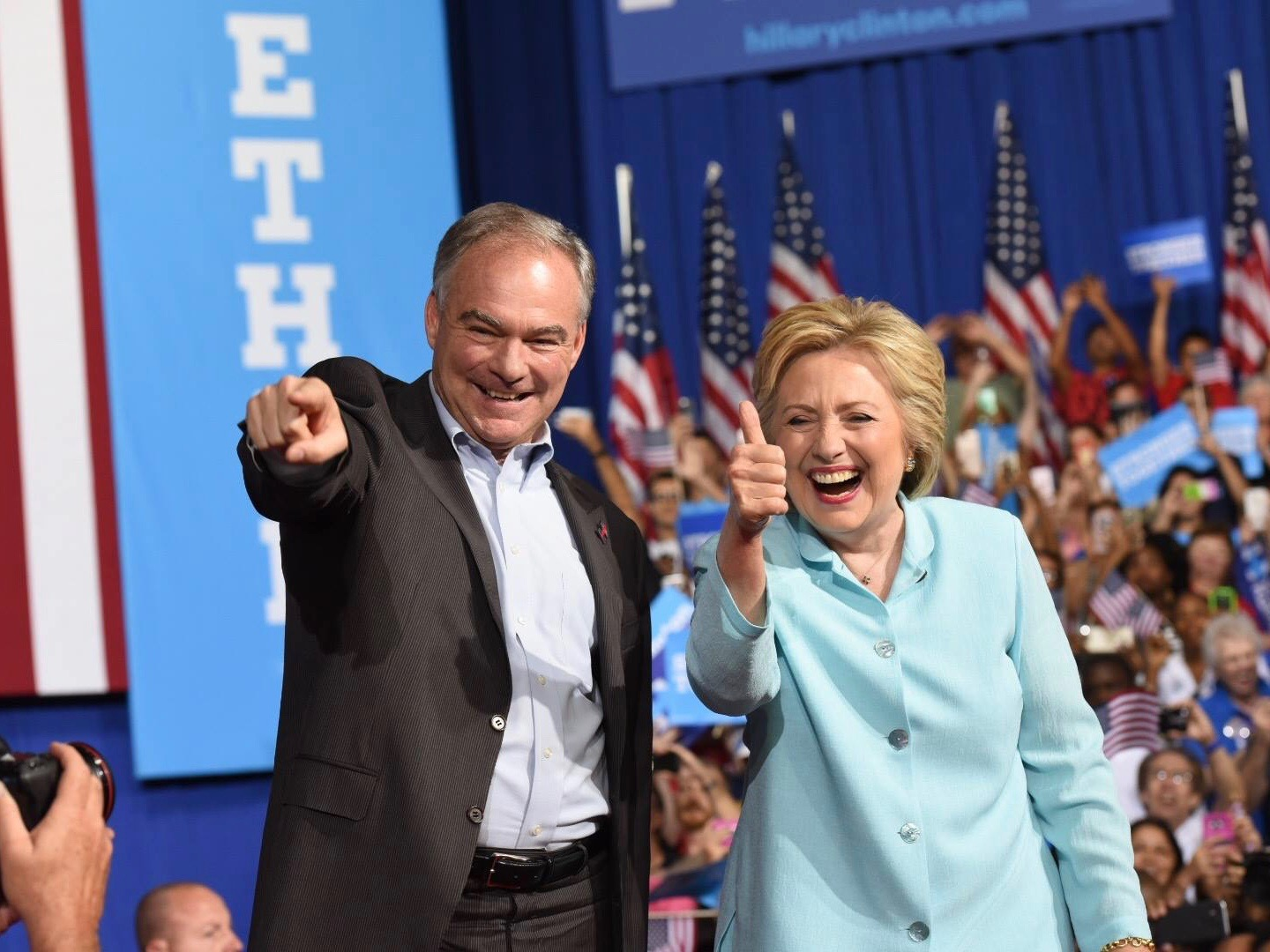Mark Trahant: #NoDAPL poses test for Hillary Clinton and Tim Kaine