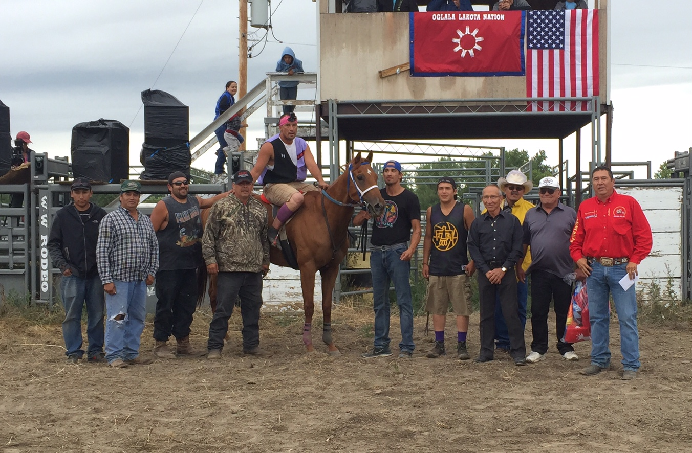 Lakota Country Times: Lakota horseman honored for winning career