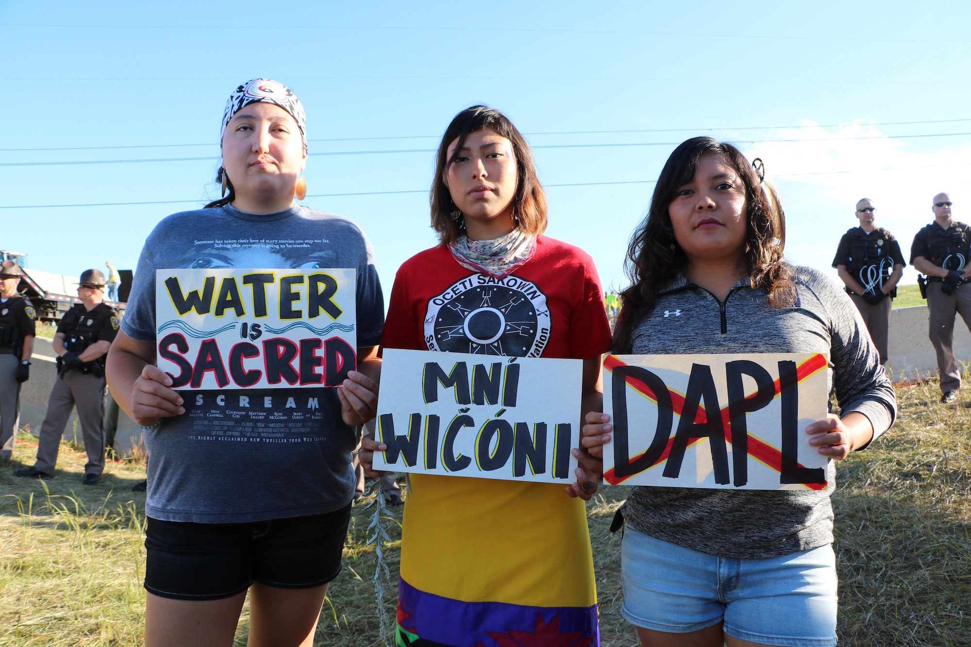 Sheriff mistook sacred pipes for pipe bombs at pipeline protest site