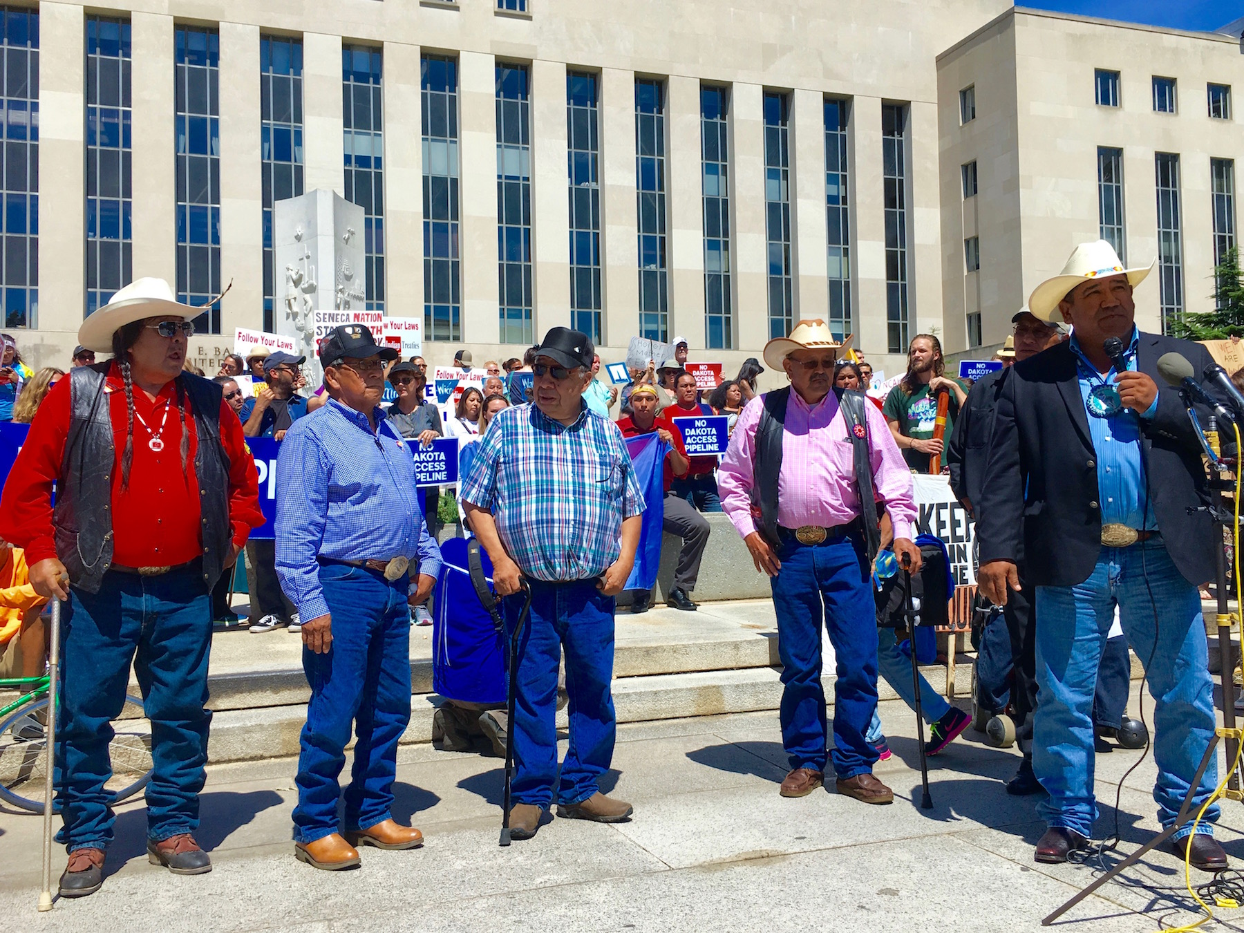 Cheyenne River Sioux Tribe: President Trump can't 'steamroll' over treaties