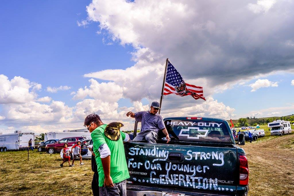 Native Sun News: Thousands join #NoDAPL pipeline resistance movement