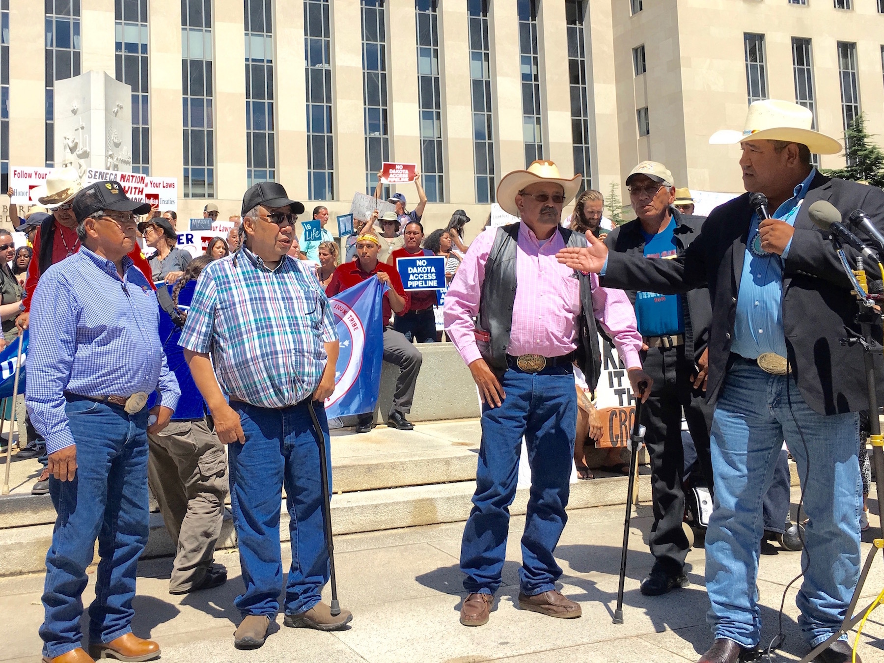 Cheyenne River Sioux Tribe tries to revive #NoDAPL complaint