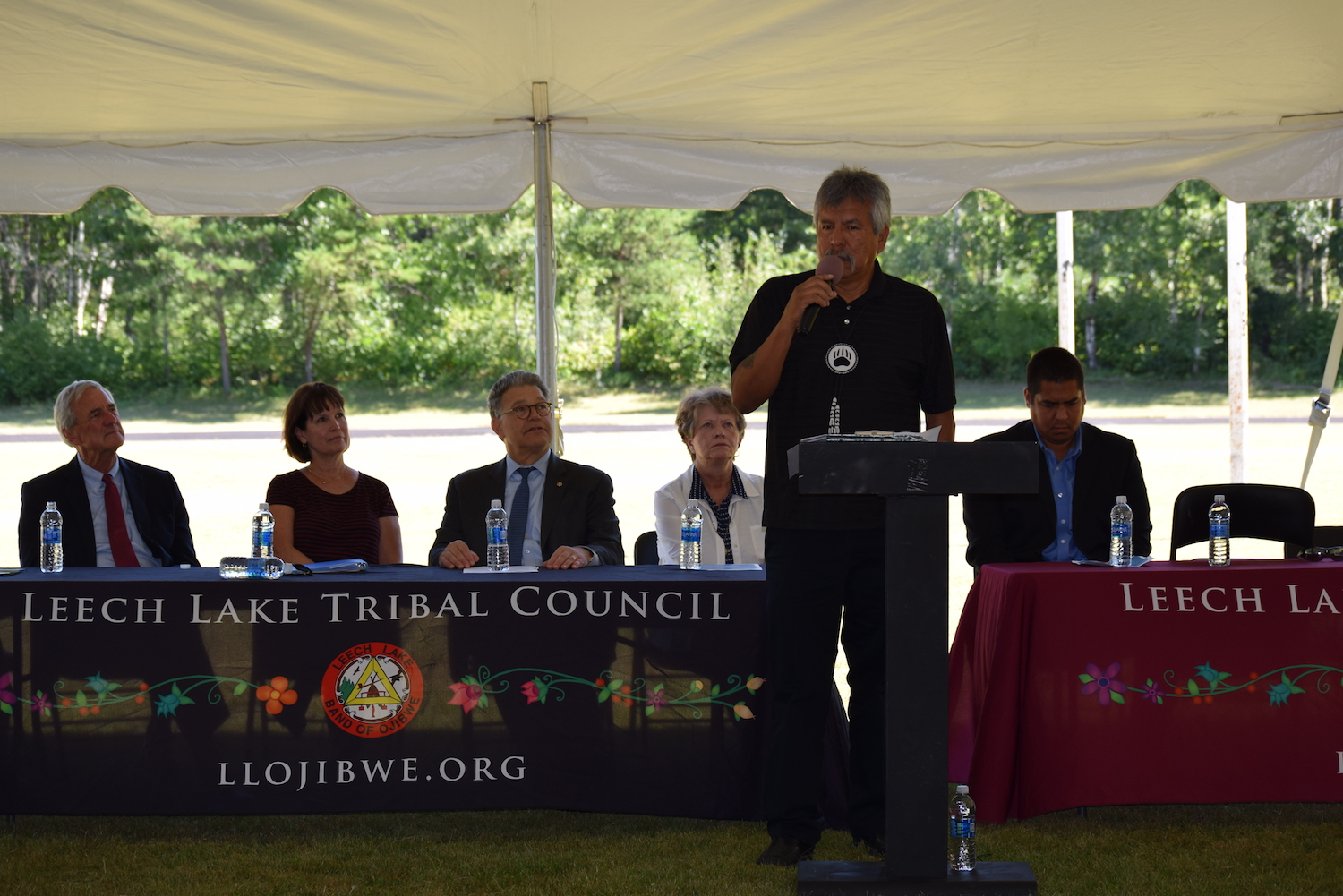 Leech Lake Band celebrates groundbreaking for new high school