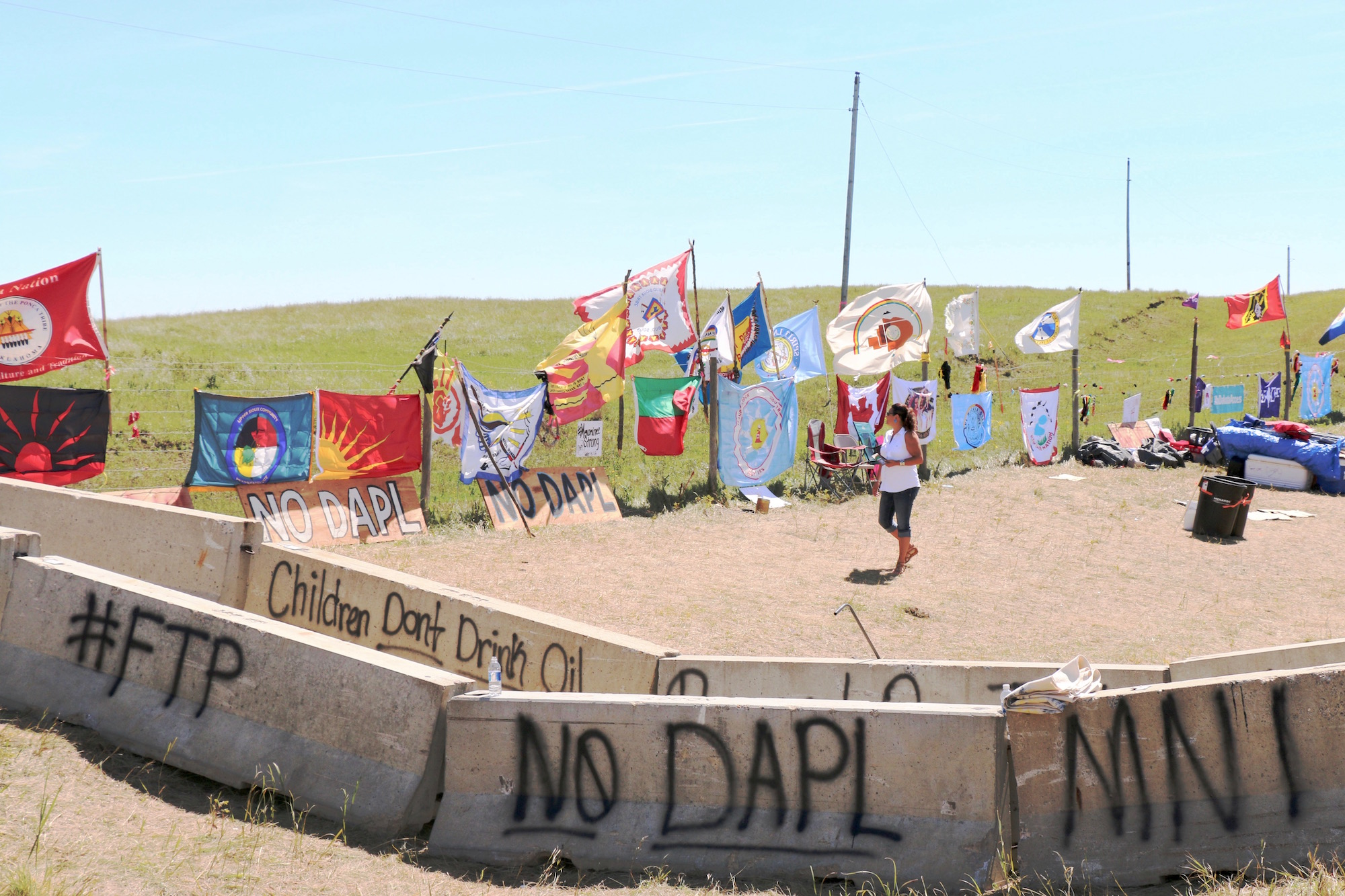 Cheyenne & Arapaho Tribal Tribune: Support and unity at Standing Rock Sioux Tribe's #NoDAPL camp