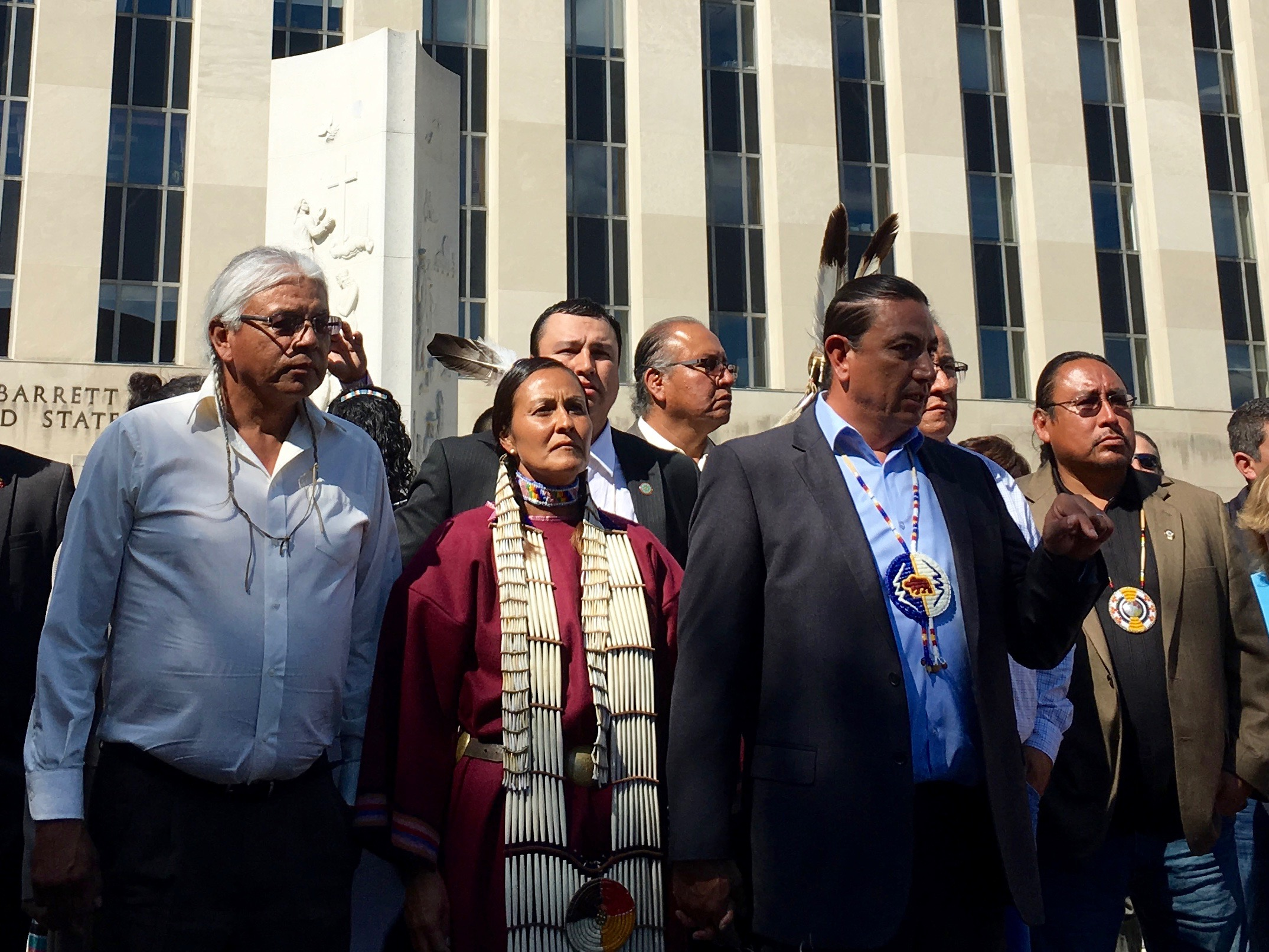 Standing Rock Sioux Tribe urges calm ahead of #NoDAPL ruling