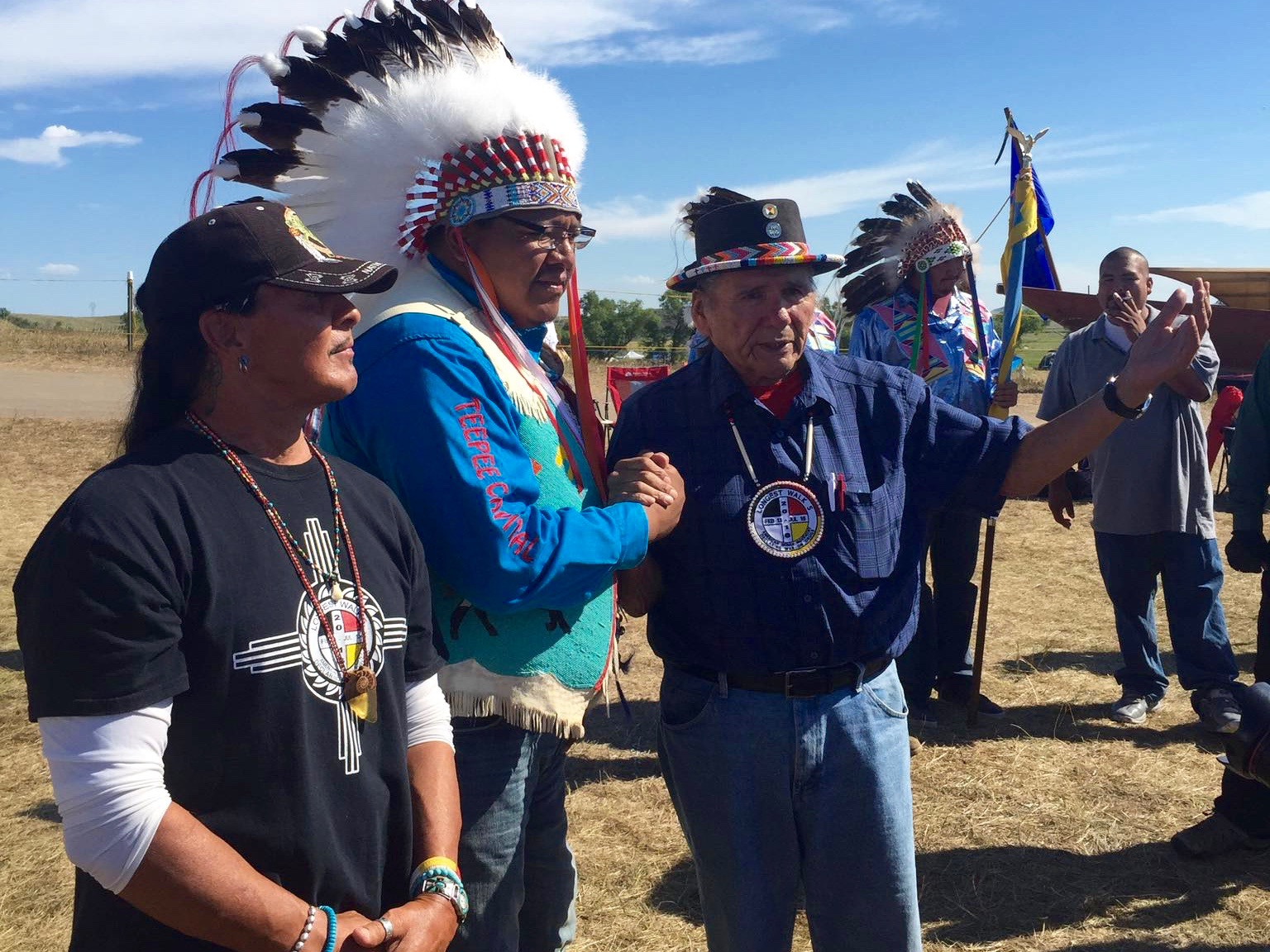 Albert Bender: Tribes join together at Camp of the Sacred Stones