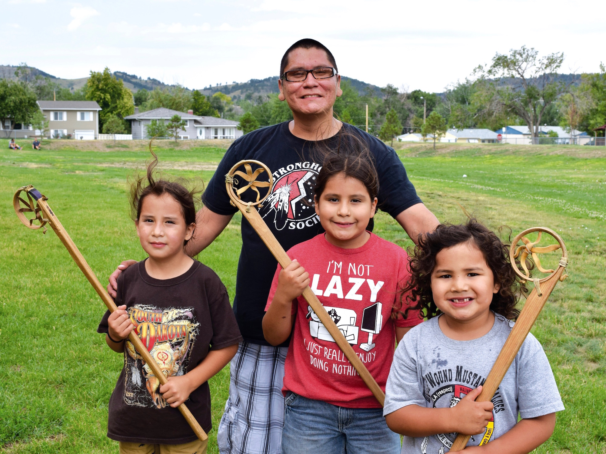 Native Sun News: Youth learn about traditions with Native games
