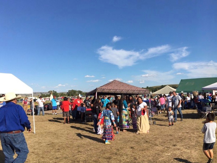 Vi Waln: Media distorts peaceful nature of sacred #NoDAPL camp