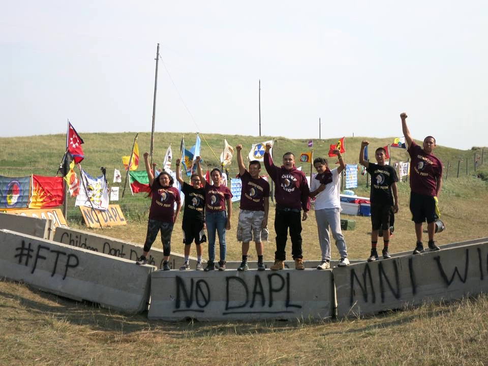 Lakota Country Times: Students witness history at #NoDAPL camp