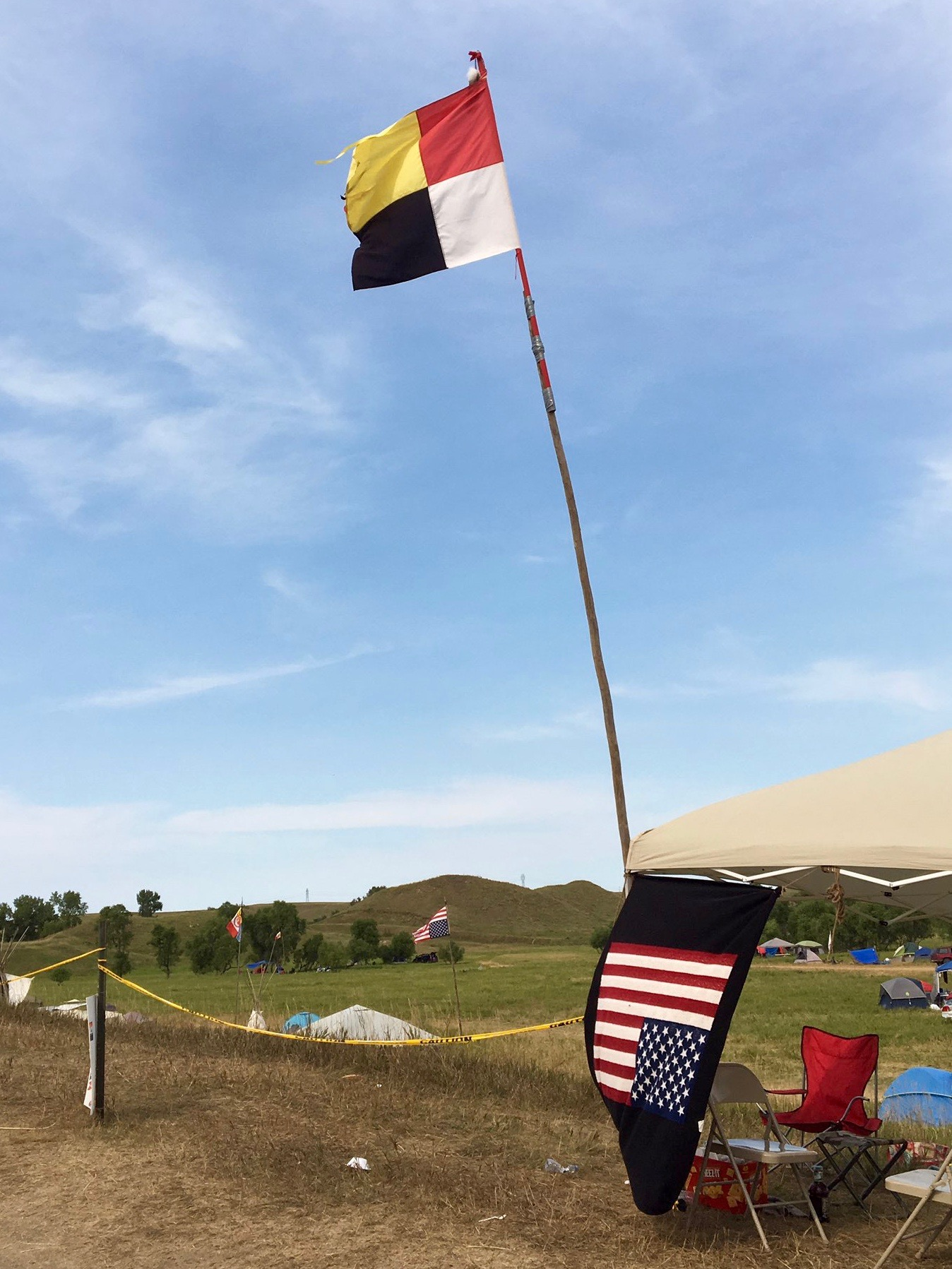 Dave Archambault: #NoDAPL struggle unfolds on Standing Rock Sioux Tribe's land