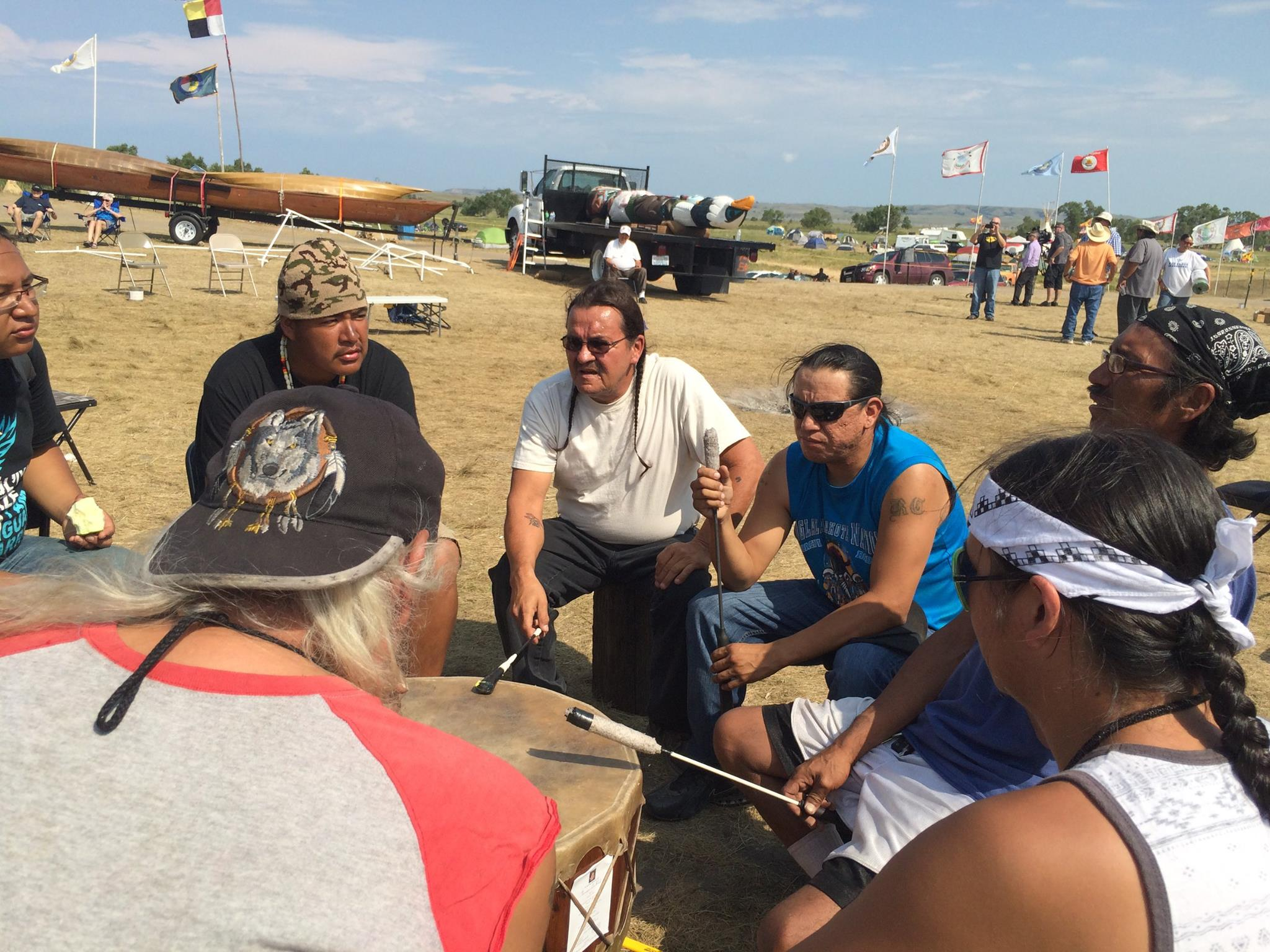 Mark Trahant: Candidate shows support for #NoDAPL movement