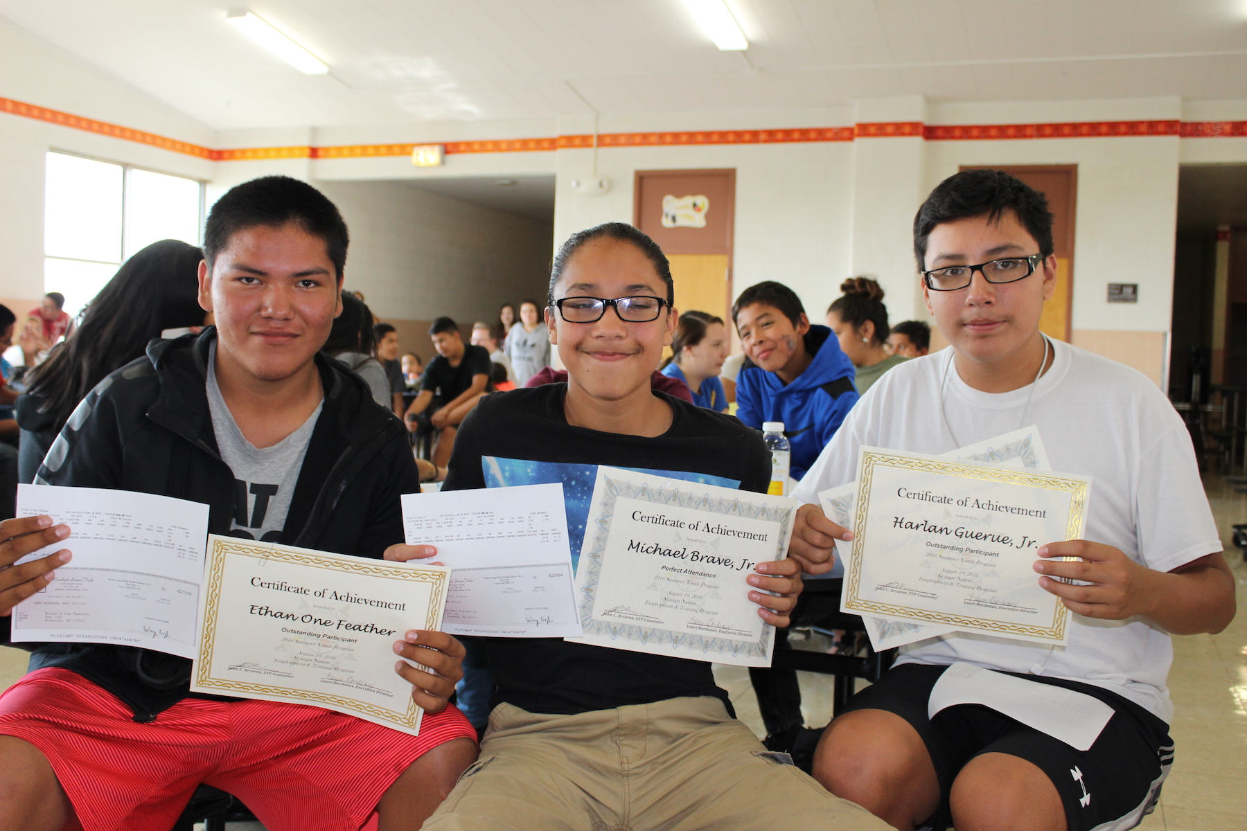 Lakota Country Times: Rosebud Sioux Tribe honors youth workers