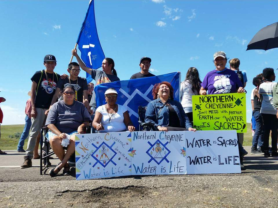 Native Sun News: Northern Cheyenne Tribe joins #NoDAPL movement