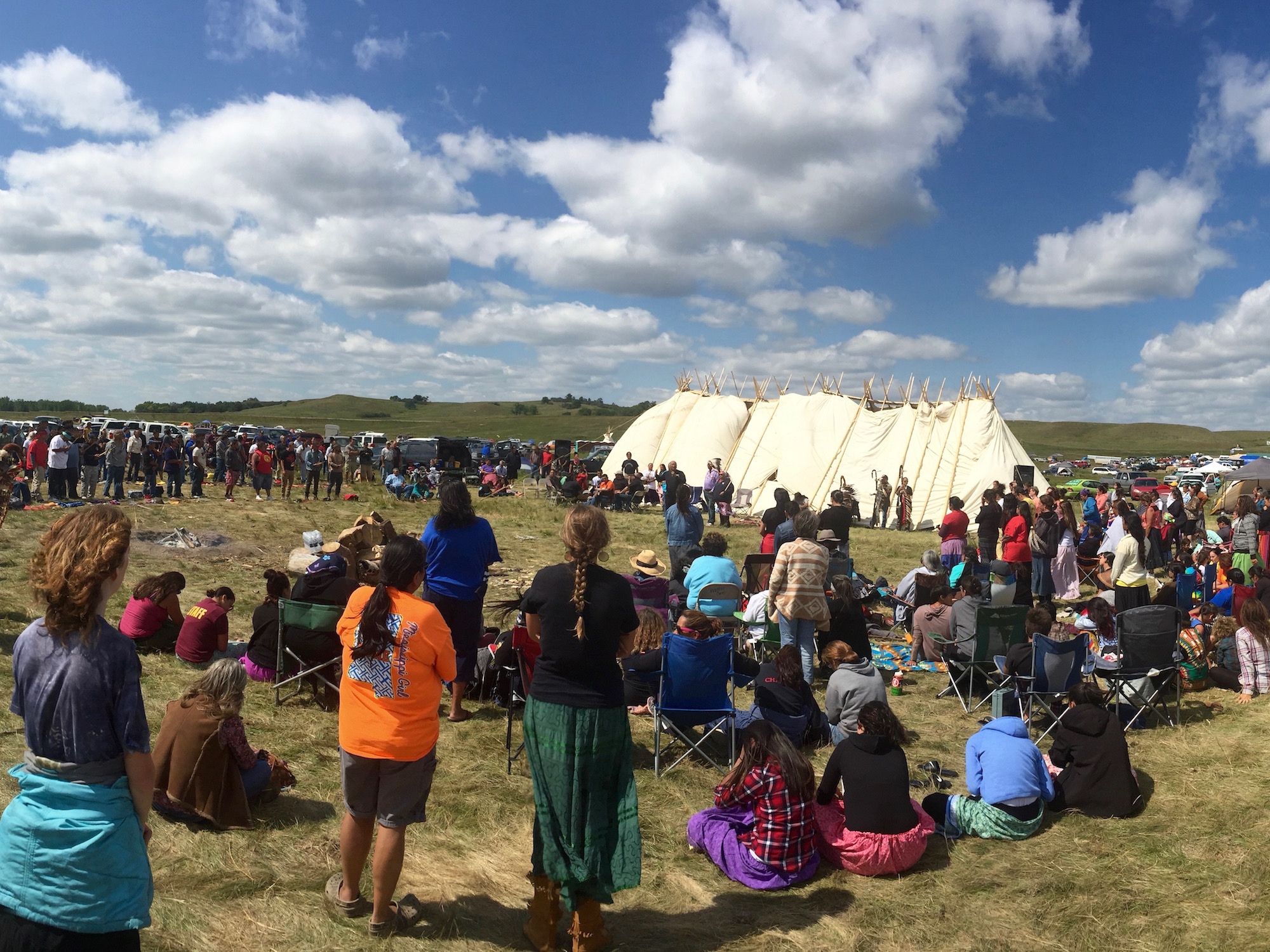 Lakota Country Times: Tribes remain united at #NoDAPL encampment