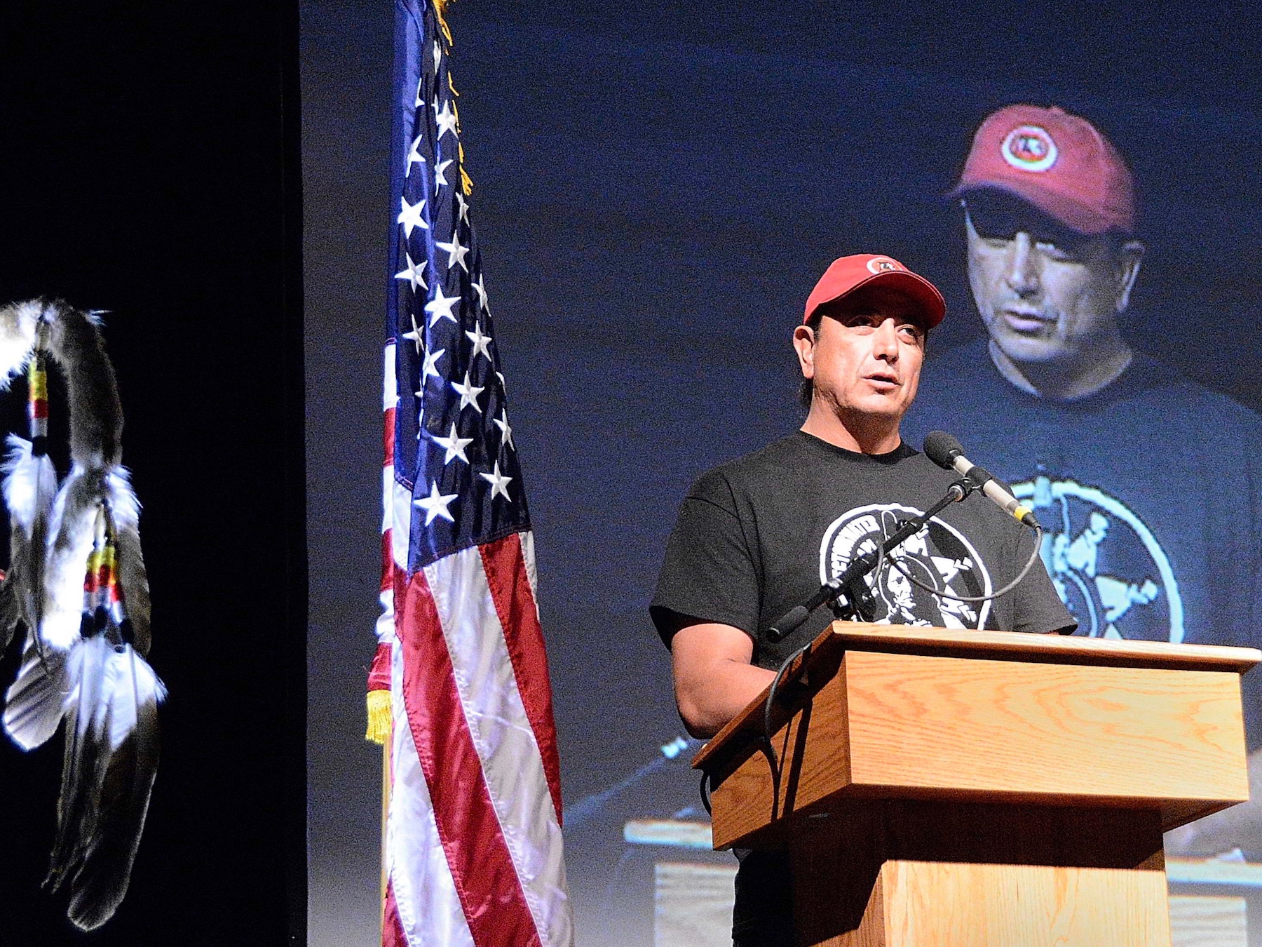 #NoDAPL movement takes center stage at summit in North Dakota