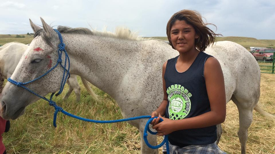 Lakota Country Times: School going strong at #NoDAPL campsite