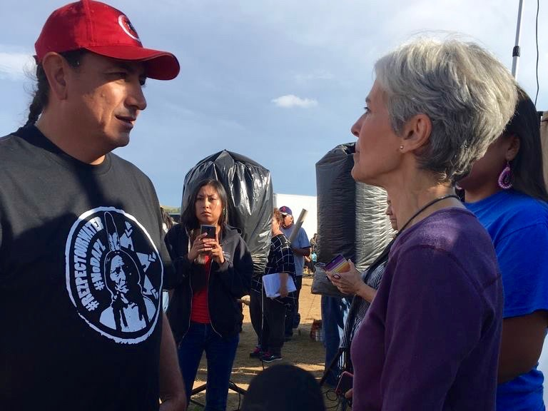Jill Stein of Green Party faces charges for standing with #NoDAPL movement