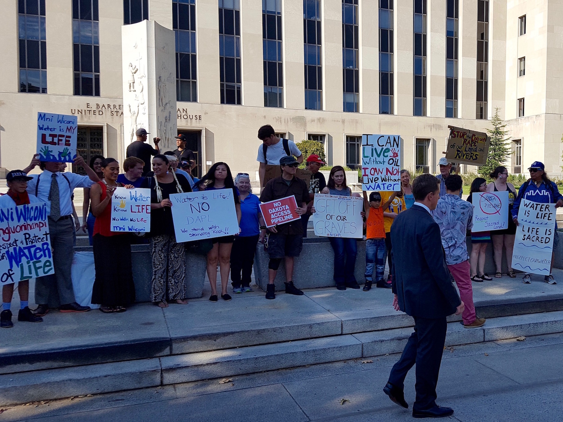 Mark Charles: The #NoDAPL struggle continues after court hearing in DC