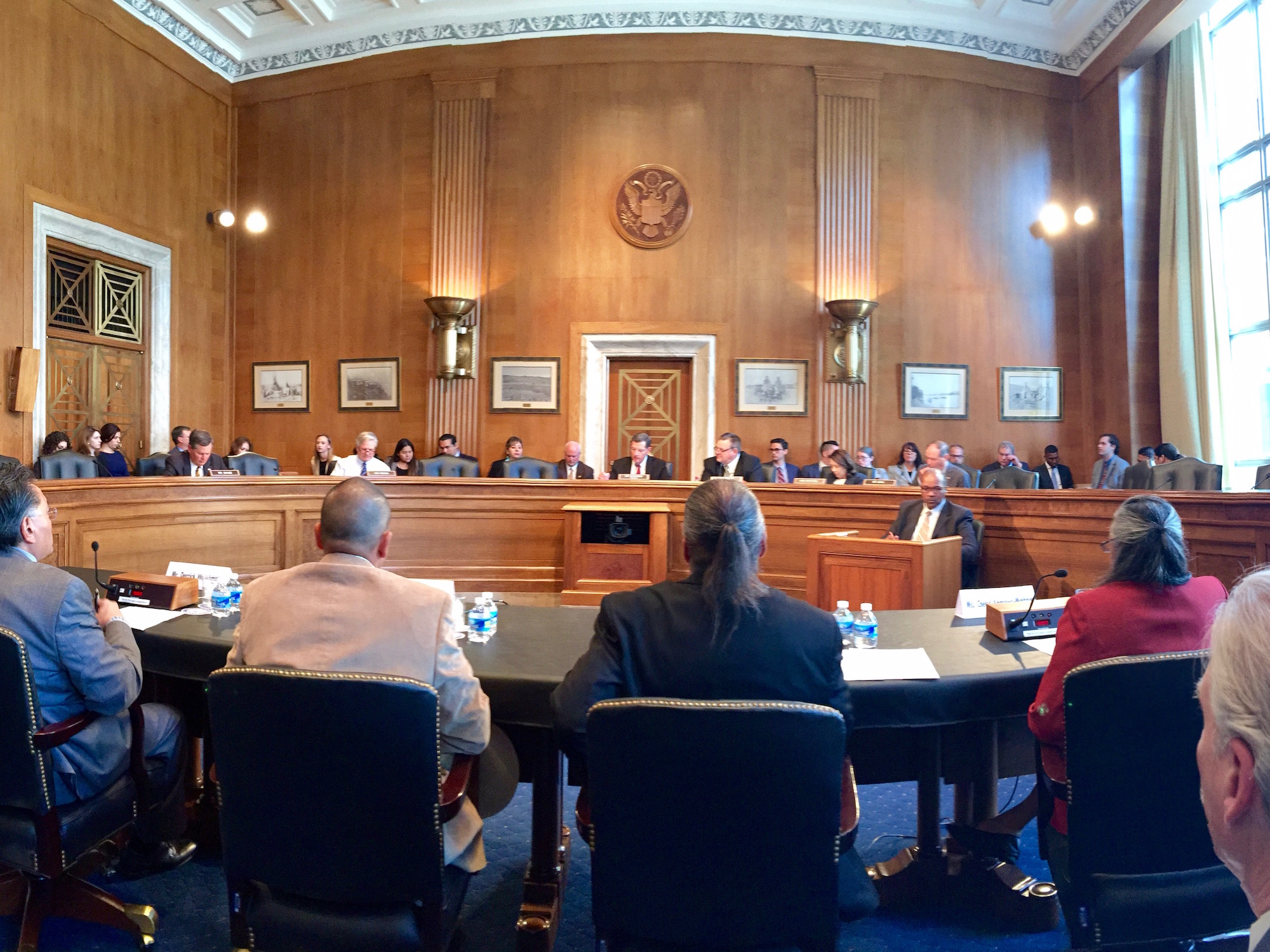 Lumbee Tribe makes case for federal recognition at Senate hearing