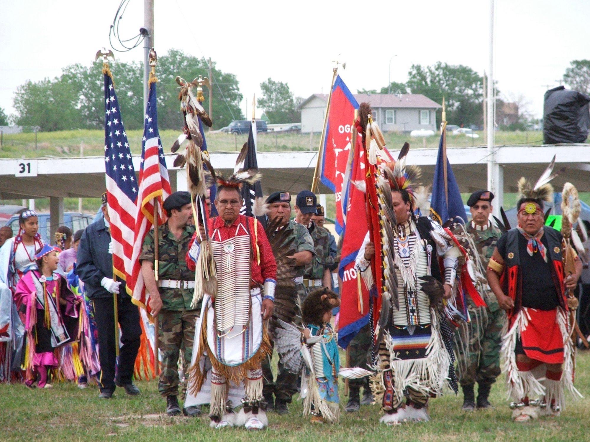 Denver American Horse: Veterans column in the Lakota language