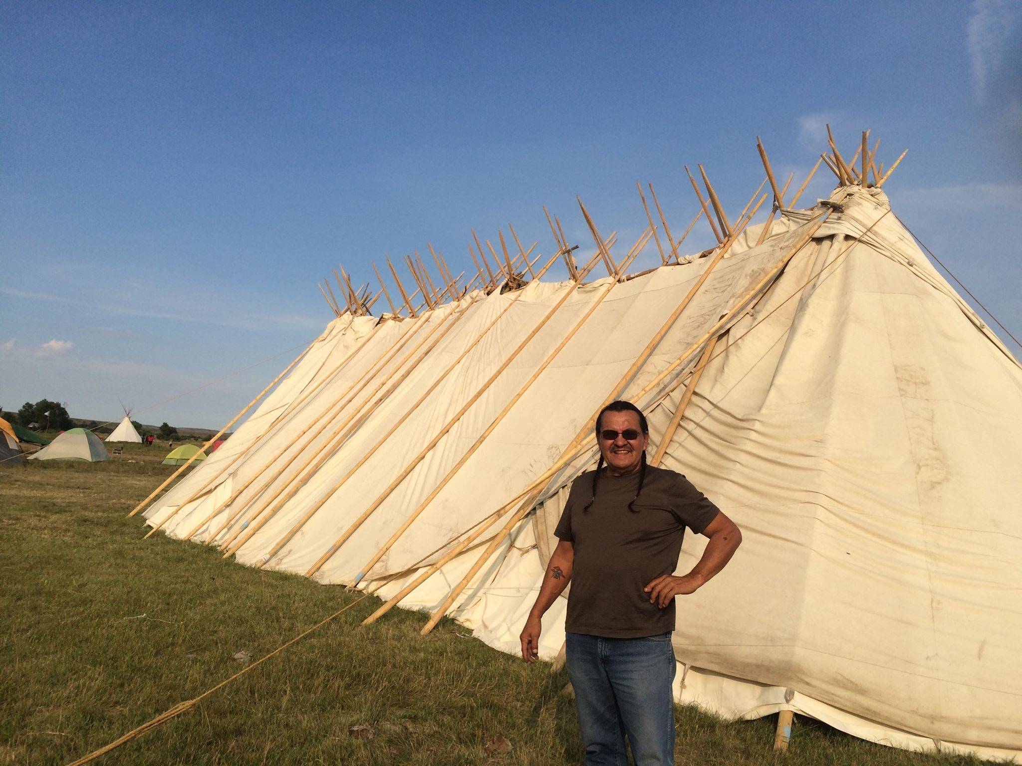 Lakota Country Times: Henry Red Cloud takes a stand for #NoDAPL