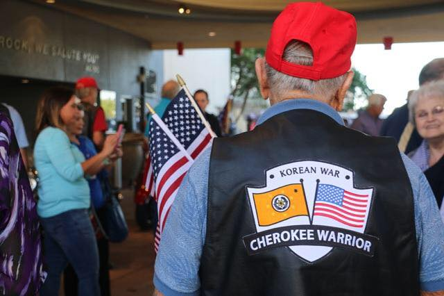 Cherokee Nation sends six veterans on third annual Warrior Flight to DC