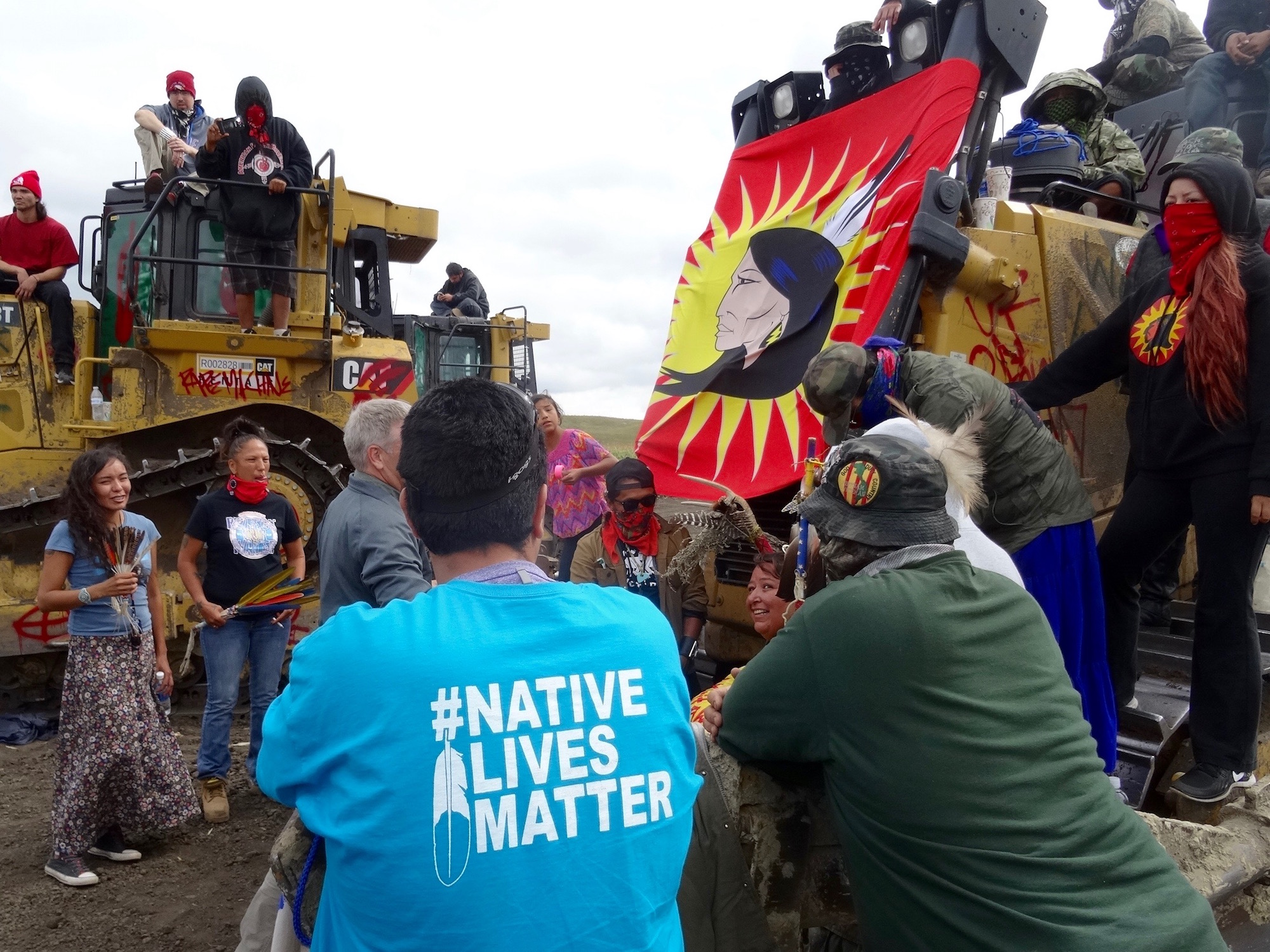 Zoltán Grossman: Cowboys stay quiet as tribes unite for #NoDAPL fight
