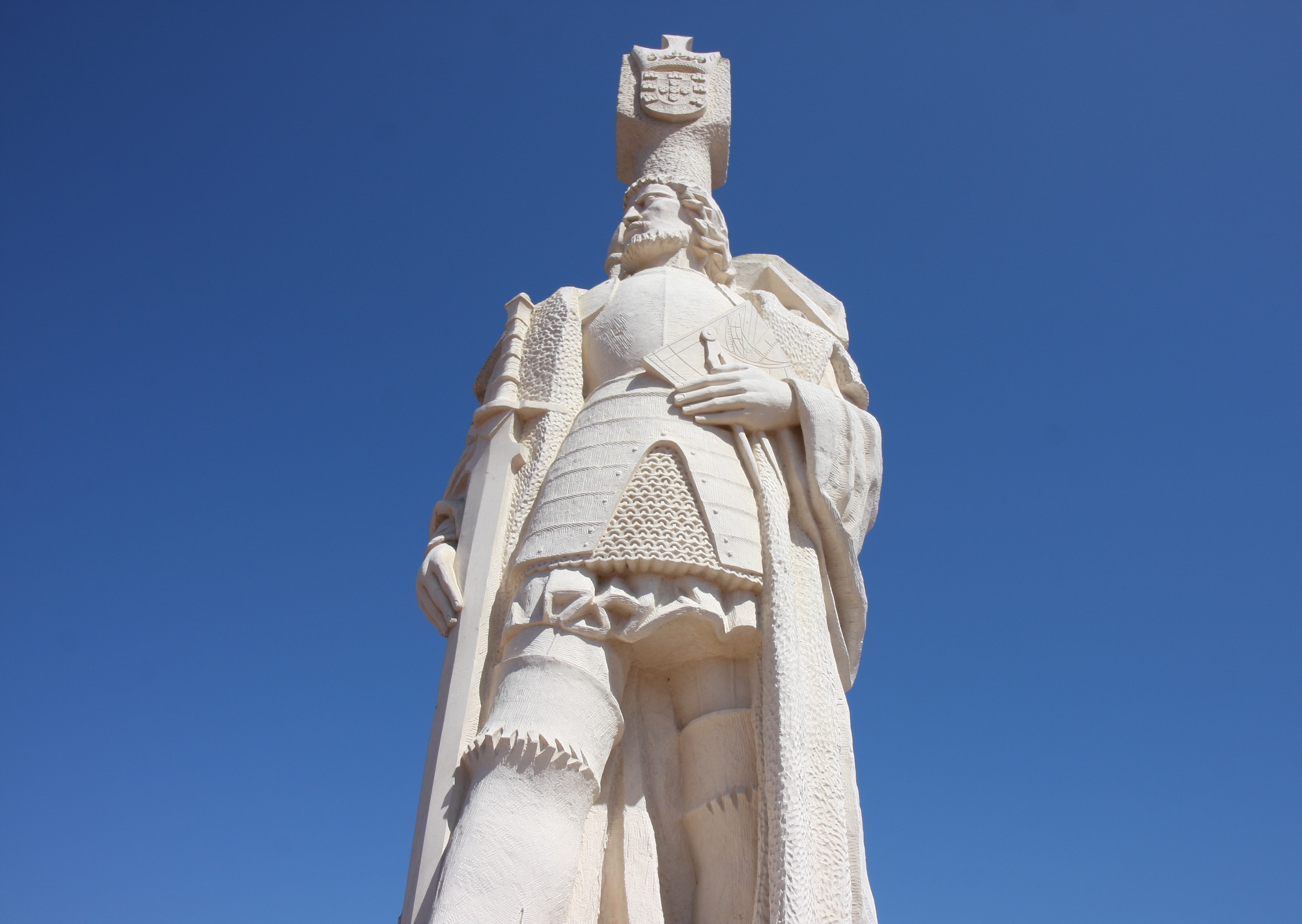Steven Newcomb: Spanish statue on Kumeyaay Nation territory based on a lie