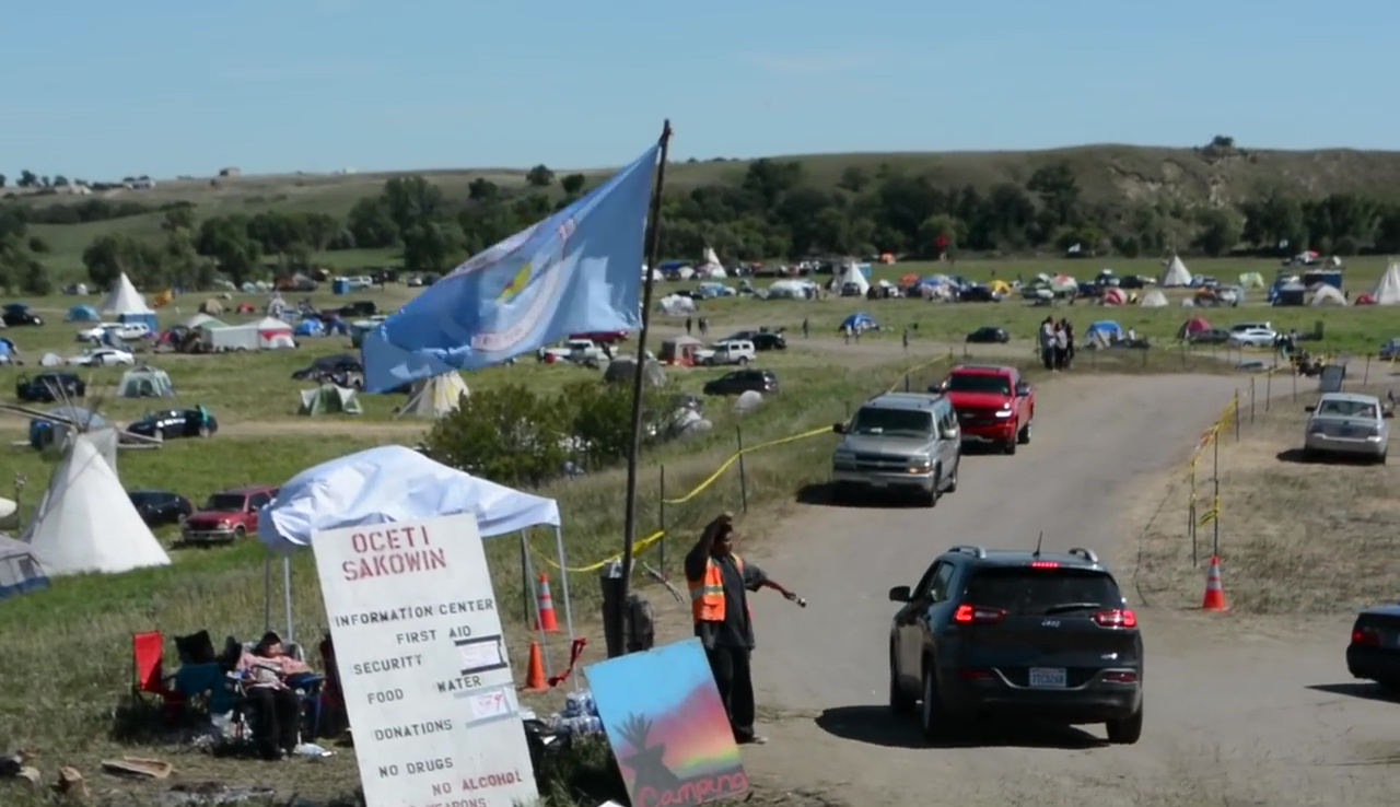 Mark Fogarty: Young Native journalists cover historic #NoDAPL movement