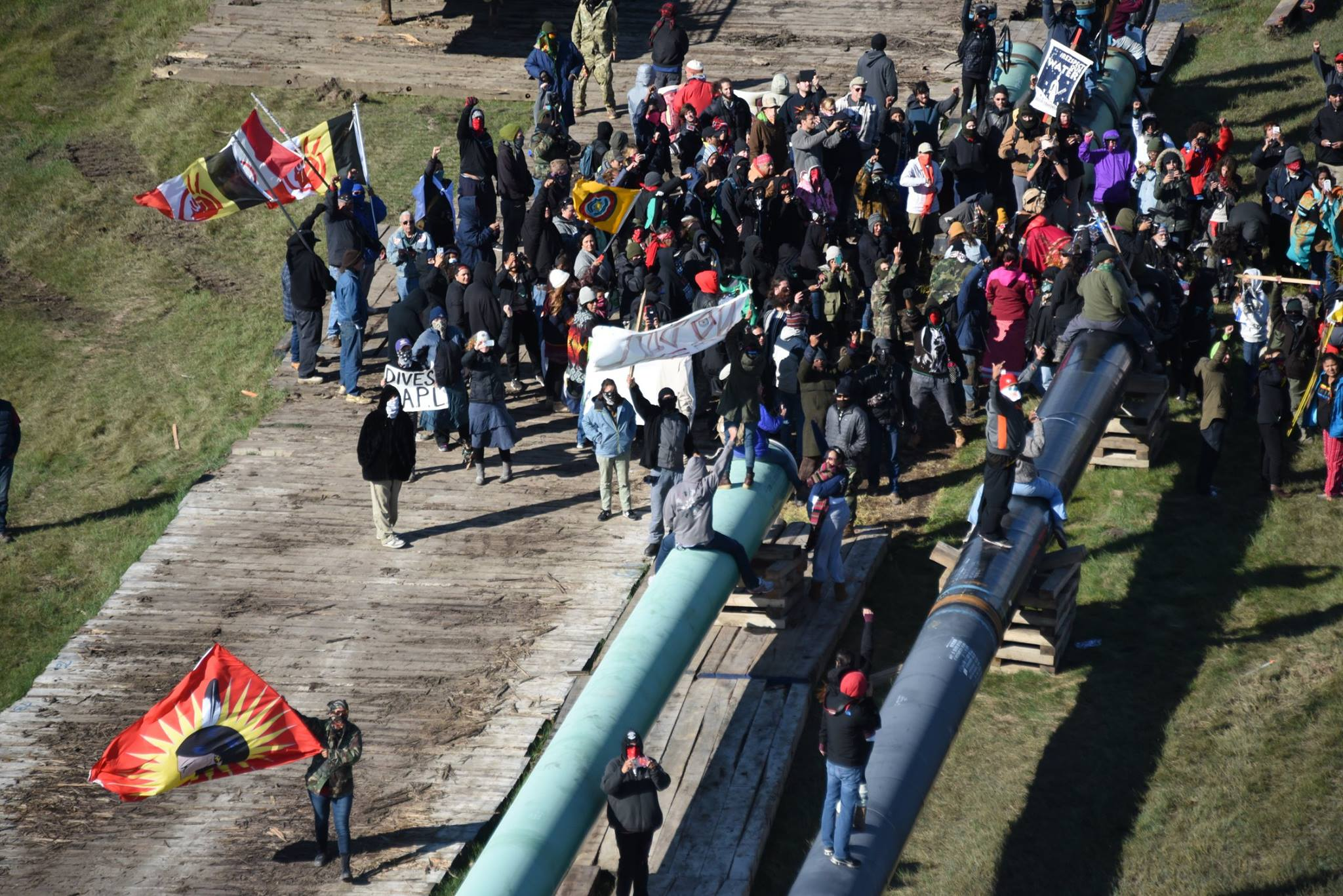 Mary Annette Pember: Sheriff looking into reports of 'gunshots' fired at #NoDAPL gatherings