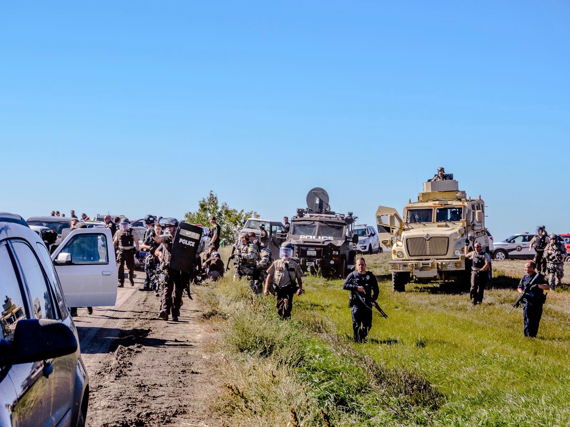 County sheriff announces additional arrests of #NoDAPL resisters