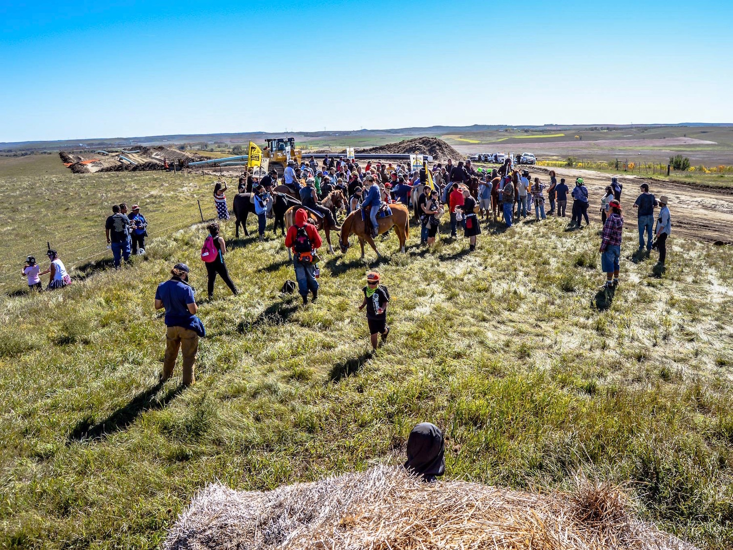 Mary Annette Pember: Water protectors rounded up for praying