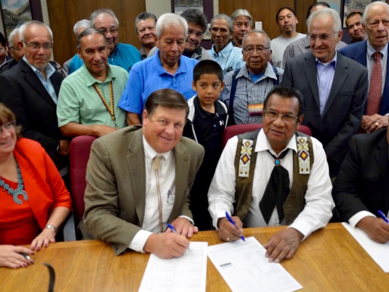 Cochiti Pueblo reclaims ancestral land in deal with New Mexico