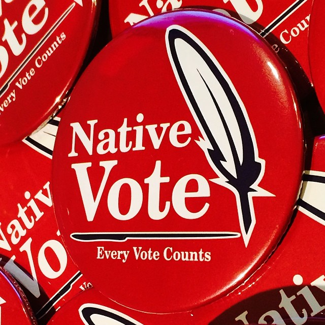 Brandon Ecoffey: Let's get out and make every Native vote count
