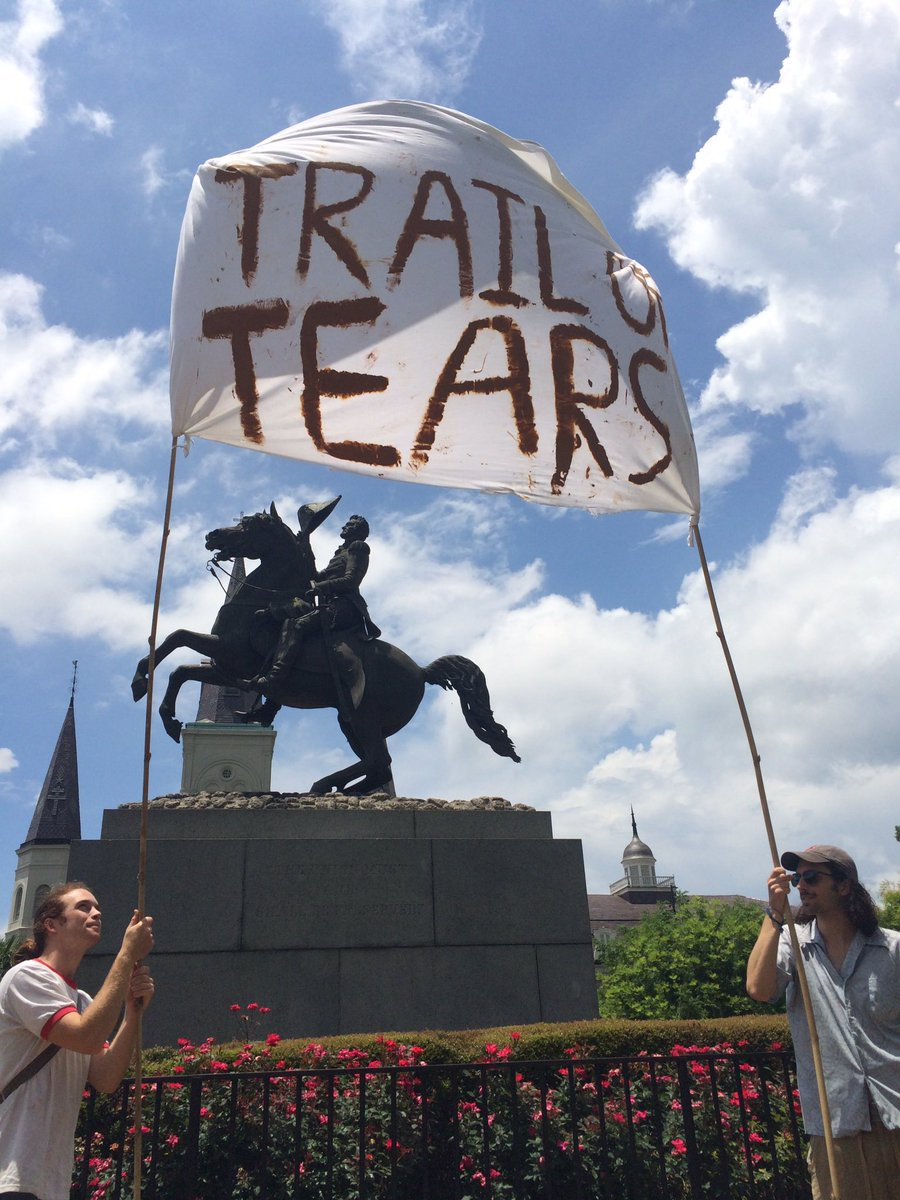 Andrew Jackson Trail Of Tears