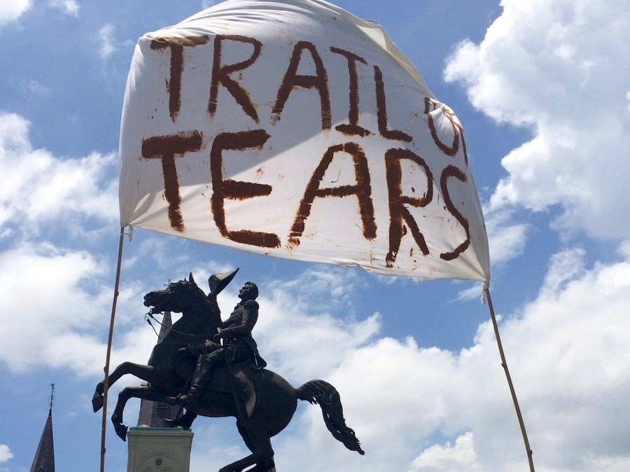 Controversy simmers over Andrew Jackson statue in Louisiana