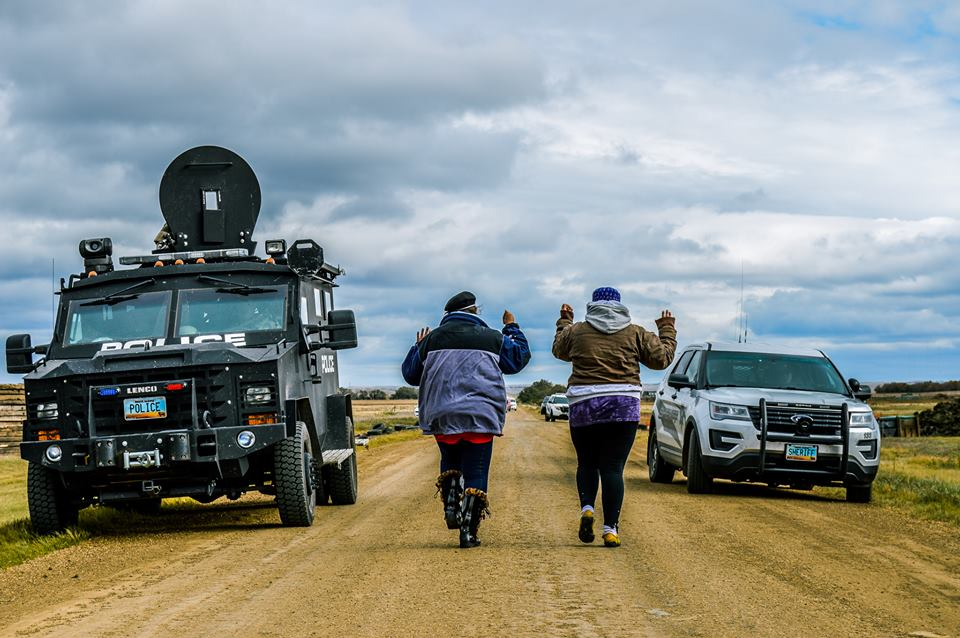 Mary Annette Pember: Police crack down on #NoDAPL protectors
